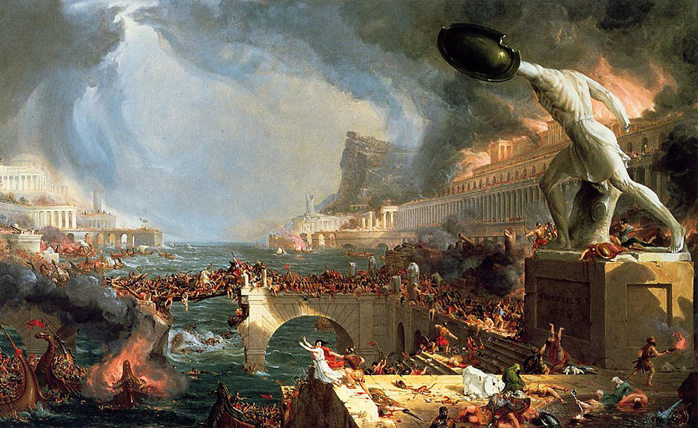 causes that made rome fall